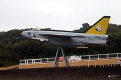 XS936 English Electric Lightning F.6, Trebrown Heliport, Liskeard, Cornwall (Kev Slade Too) Tags: xs936 englishelectric lightning castlemotorsltd trebrown liskeard cornwall