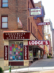 Lodge's, Albany, NY (Robby Virus) Tags: albany newyork state lodges department store blodge co company business oldest underwear hosiery sleepwear