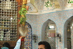 Water of Hope (Omair Anwer) Tags: lal shahbaz qalander mazar tomb sehwan sharif sufi sufism