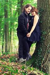 Ronja und Dennis 4 (tanja jooonsen) Tags: paar people love harmonie harmony outdoor sweet forrest liebe kuss kiss twoesome lovers pair couple smile