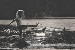 Flick (mattd85) Tags: scotland lochlomand fun water splash cold adventure portrait brilliant wow