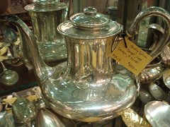 """MASSIVE TEAPOT OF UNUSUAL FORM BY TOWLE. • <a style=""""font-size:0.8em;"""" href=""""http://www.flickr.com/photos/51721355@N02/30201870241/"""" target=""""_blank"""">View on Flickr</a>"""
