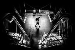 Labor (tomabenz) Tags: blackandwhite humaningeometry sonya7rm2 streetphotography contrast czechrepublic elevator europe praga prague praha bw monochrome noiretblanc shadow streetview urban