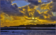 Kuilima Sunrise (tdlucas5000) Tags: hawaii oahu kuilima turtlebay hdr seascape clouds sunrise