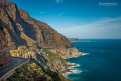 Chapman's Peak Drive (Chiara Salvadori) Tags: capepeninsula capetown chapmanspeakdrive southafrica tablemountain africa atlantic sudafrica cliff colors landscape light mountains nature ocean outdoor rocks scenery sea seascape spring sun travel traveling water winter