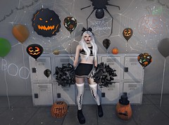 Hallows Cheer (Bishybaby) Tags: reign besom theepiphany maitreya vco sl secondlife halloween halfdeer pilot thenightmare jian stockholmlima soul hopscotch gachagarden thor astralia