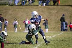 IMG_2458eFB (Kiwibrit - *Michelle*) Tags: pee wee football winthrop monmouth boys team game 101516 play