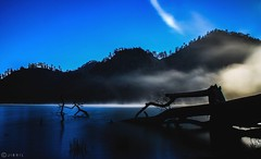 Ranu Kumbolo (jibril_alqarni) Tags: longexposure ranukumbolo indonesia beautiful lake danau