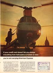 1967 American Express Advertisement Time Magazine December 8 1967 (SenseiAlan) Tags: 1967 american express advertisement time magazine december 8
