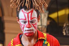 Il pagliaccio triste - The sad clown. (sinetempore) Tags: ilpagliacciotriste thesadclown ritratto portrait viso volto face