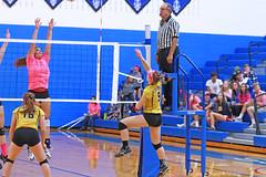 IMG_10370 (SJH Foto) Tags: girls volleyball high school lampeterstrasburg lampeter strasburg solanco team tween teen east teenager varsity net battle spike block action shot jump midair burst mode