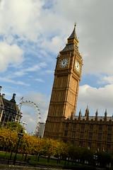 Time For Autumn (dhcomet) Tags: bigben elizabethtower parliament clock westminster autumn palaceyard london portcullishouse