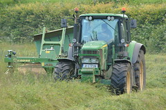 John Deere 6830 Tractor with a Krone Easy Cut Mower Conditioner (Shane Casey CK25) Tags: john deere 6830 tractor krone easy cut mower conditioner jd green rathcormac hay silage silage16 silage2016 grass grass16 grass2016 winter feed fodder county cork ireland irish farm farmer farming agri agriculture contractor field ground soil earth cows cattle work working horse power horsepower hp pull pulling cutting crop lifting machine machinery nikon d7100