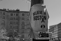 Believe in Boston (D.Reyes) Tags: bear pink flowers blue red roses people usa flower green yellow boston america writing hearts hands memorial candles peace sad tulips teddy ominous marathon buddhist flag religion explosion lion crosses americanflag tourist christian american teddybear posters shock tibetan bombing prayers vases shocked bostonmarathon pinkbear prayforboston bostonstrong