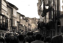 Naked Crowd Control (MecCanon [Insta: JLPhotoOfficial]) Tags: street santiago festival canon naked de photography eos san balcony crowd galicia compostela roque pancake 40mm fotografia desnudo callejera festivo 60d