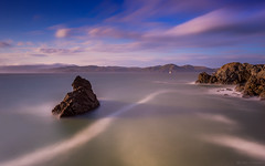 Moments (tobyharriman) Tags: pictures ocean sanfrancisco california longexposure sunset sea seascape canon landscape photography coast warm cloudy scenic may landsend lee bayarea sutrobaths pacificnorthwest 2013 colorefexpro niksoftware bigstopper indurotripod tobyharriman