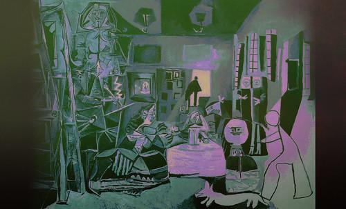 """Meninas, iconósfera de Diego Velazquez (1656), estudio de Francisco de Goya y Lucientes (1778), paráfrasis y versiones Pablo Picasso (1957). • <a style=""""font-size:0.8em;"""" href=""""http://www.flickr.com/photos/30735181@N00/8747977182/"""" target=""""_blank"""">View on Flickr</a>"""