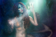 Ariel (Ian_Arneson) Tags: sexy ariel fog fairytale dark ian nikon disney mermaid fin creature twisted littlemermaid deadly arneson d90 ravenous strobist soulsnatcher twistedprincess phlearn