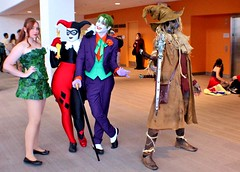 gotham villains (RyC - Behind The Lens) Tags: wow starwars cosplay sanjose superman wonderwoman r2d2 stormtrooper comicbooks supergirl darthvader thor catwoman poisonivy bigwow comicfest