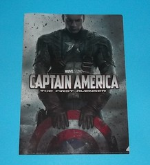 Captain America - The First Avenger Clear File (chujohime) Tags: marvel captainamerica avengers