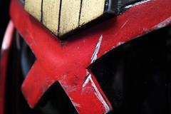 Scar (Tsabo Tsaboc) Tags: real 3d helmet armor impact judge props dredd