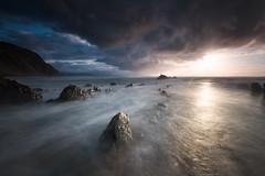 SUNBURNS (Jesus Bravo) Tags: sun burn sea sunset clouds skay beach basque country barrika