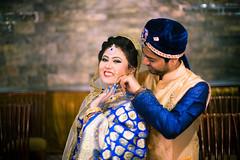 Couple shot at Wedding (Shakhawat Hossen Shafat) Tags: wedding weddingphotography couple shallowdof indoor light nikon ceremony