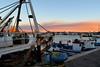 Porto Empedocle (Ale_sbiru) Tags: tramonto barca porto portoempedocle mare colori barche