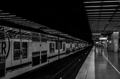 La Dfense (Lens a Lot) Tags: street iris light 6 white black paris macro station train vintage underground subway lens point photography japanese la gate metro 28mm tube mc manual pk f56 blades 1990 vantage dfense | 2016 2870mm tokura f3548