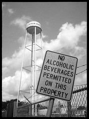 Do you want a drunk water department worker? I thought not. (FreezerOfPhotons) Tags: halfframe xtol olympuspenees2 agfapan100