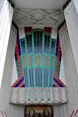Hoover Building Perivale (Phil Beard) Tags: london architecture facade factory entrance doorway artdeco perivale wallisgilbert