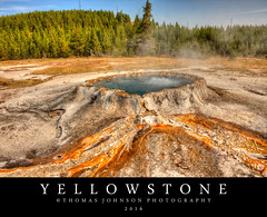 Yellowstone (Thomas  Johnson Photography) Tags: wyoming outside outdoors canon digital 40d scenic gerothermal hot boiling water bacteria color colorful yellowstone yellowstonenationalpark nationalpark 2016 yellow stone amazing volcano volcanic steam thomasjohnsonphotography thomasjohnsonphotography