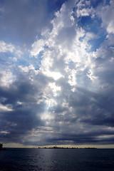 A Little Heavenly Tumult, Chantry Beach (Craig James White) Tags: canada ontario brucecounty saugeenshores southampton lakehuron clouds filteredlight chantryisland