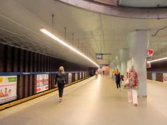 Metro Warszawskie (transport131) Tags: metro warszawa warsaw mw stacja station infrastruktura infrastructure plac wilsona