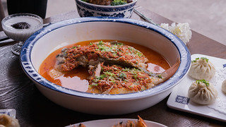 Steamed Tilapia Fish with Chopped Bell Chili