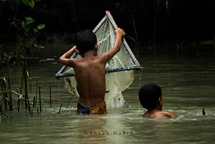 Village Life 2 (Ahsan HaBiB Sifath) Tags: flickr candidphotography travel affection fishing outdoor people village canon eos 600d water life play friend