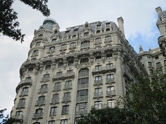 Ansonia Building - Former Residence of Pogo Cartoonist Walt Kelly 3544 (Brechtbug) Tags: the ansonia apartment building now condo upper west side new york city 2109 broadway between 73rd 74th streets built 1899 opened 1904 beaux arts architectural style mansard roof architect paul e m duboy featured 1992 film single white female bridget fonda jennifer jason leigh home pogo cartoonist disney animator walt kelly mobster arnold rothstein athletes jack dempsey babe ruth 8202016 nyc 2016