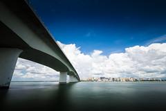 The Bridge (Austin Zveare) Tags: sarasota florida john ringling bridge water hdr long exposure wide angle clouds storm