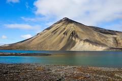 Kongressvatnet, Svalbard (k0ntiki) Tags: svalbard lake mountains spitsbergen arctic polar norway