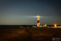 Portland Bill lighthouse (natty_dobrescu) Tags: lighthouse dorset portlandbill uk unitedkingdom united kingdom night ligth nightscape scape landscape landmark scenery panorama view vista photography nightlights longexposure canon70d travel explore discover coast england europe colors architecture tower