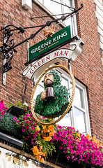 London (alh1) Tags: england london pub sign greenman