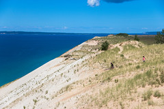 (cara zimmerman) Tags: michigan lake dunes sleepingbeardunes vast nationalpark sand lakemichigan cousins