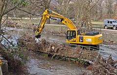 370. That was 'our' bridge, that was!! (J.C. Carter) Tags: cumbria lakeland lakedistrict keswick rivergreta bridge damage wreckage stormdesmond flood destruction workinprogress heavymachinery knightsbridge