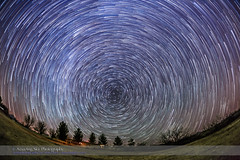 Arizona Star Trails - Circumpolar Looking North (Amazing Sky Photography) Tags: advancedstackerplusactions arizona circumpolar northern polaris stacking startrails winter