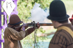 Ember (Jacob M. Dawson) Tags: people renaissance firearms