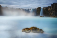 Celestial territory (Blai Figueras) Tags: islandia sky panorama montaas cascada agua water mountains river horizon landscape lago atardecer atmosphere fall reflections ro longexposure stones le paraiso rocas eden paisaje flickr waterfall iceland energy clouds cielo lake rocks silkeffect