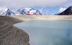 PM200874_medium_1900 (ThomasKrannich) Tags: austria carinthia mlltalergletscher artificial lake water snow cannon ski alps alpine nobody mountain mtcand hiking landscape