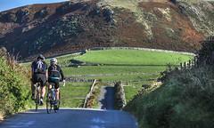 Round Wales Walk 48 - Saturday Riders (Nikki & Tom) Tags: waleswalescoastpath roundwaleswalk uk gwynedd hills campsite fields road cyclists