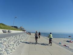 Island of Borkum (Michiel Thomas) Tags: borkum promenade alter damenpfad insel ems noprdsee watteninsel waddeneiland duits deutsch german bicycles fiets fhrrad fahrraeder strand nordseestrand heimliche liebe
