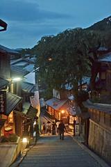 Down stairs (Kyoto - ) (Doncardona) Tags: kyoto  japan japon nippon nihon   traditional old oldcity asia asiatrip nikon nikond3100 worldtraveler jpworldtraveler travel trip adventure journey
